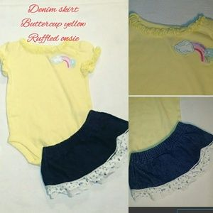 5/$20⏩Baby Q .  2 pc outfit 3-6 mo